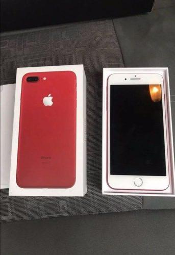 7 Plus red