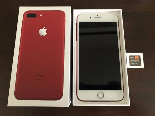 i phone 7 plus red 128